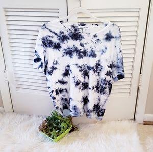 Elizabeth & James Tie Dye Short Sleeve T Shirt M